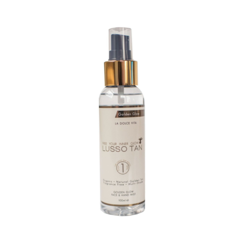 Lusso Tan Golden Glow Face and Hand Mist | Skinfinity Beauty and Skin Clinic