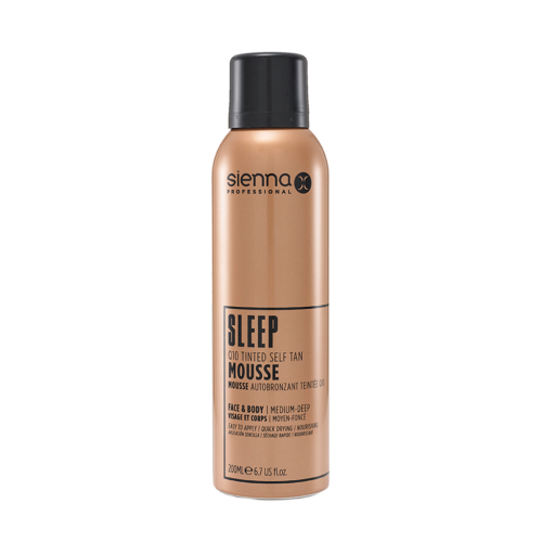 Sienna X Sleep Q10 Tinted Self Tan Mousse | Skinfinity Beauty and Skin Clinic